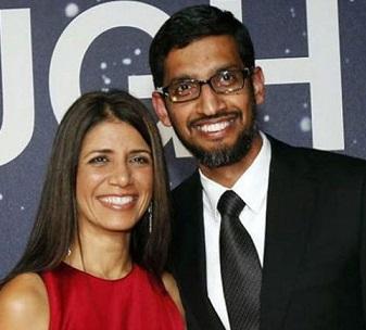 Anjali Pichai Wiki, Age, Wedding, Sundar Pichai, Family, Job, Net Worth