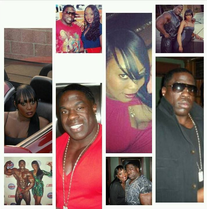 2c6ed3ce27da Kali Muscle and his wife Dvyne in a picture posted on 18 June 2013 (Photo   Facebook)