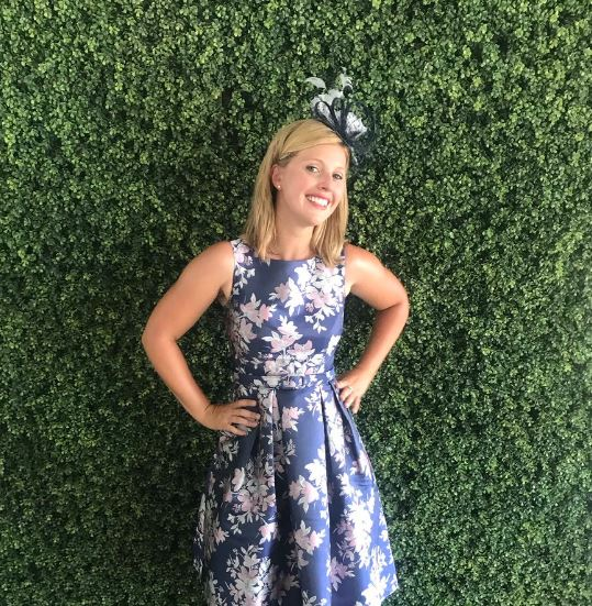 6543849c Laura Diakun felt excited to cover Queen's Plate with TSN Sports during  late June 2018 (Photo: Twitter)