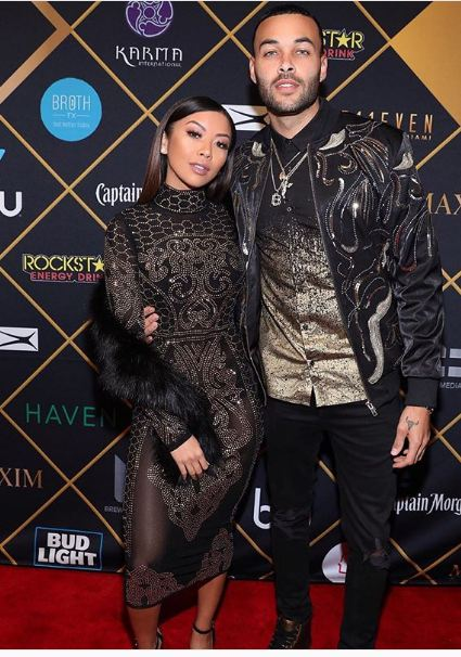 Liane With Her Boyfriend Don Benjamin Posted On February 5 2018 Source Instagram