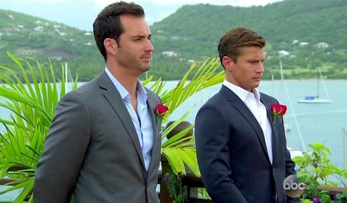 Caption Peter And Bryan Wait For The Bachelorette To Choose Her Mr Right