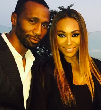 Leon Robinson with beautiful, Wife Samantha Garrett